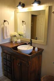 Rustic Bathroom Vanities And Sinks Small Bathroom Vanity With Storage Ideas Thementracom