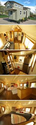 A beautiful 200 sq ft tiny house on wheels, built for a family of ...