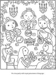 Small Picture tea party coloring pages Google Search Craft Ideas Pinterest