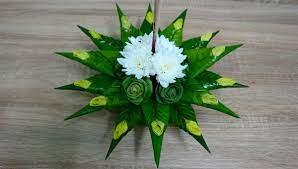 ตัวอย่าง การตกแต่งกระทงใบตอง ด้วยดอกไม้หาง่ายๆ รอบตัว - thaithainews.club