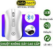 Chuột không dây Bluetooth Wireless sạc pin tự động ngắt SIDOTECH YINDIAO A8  cho Laptop Macbook PC Tivi - Chính hãng - Phụ kiện phím chuột văn phòng  Hãng Sido Tech