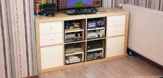 ikea retro furniture. delighful furniture a hack to turn ikea kallax unit into a retro gaming cabinet via www on ikea retro furniture