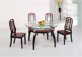 fantastic glass tops for dining tables glass top dining table round