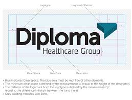 diploma healthcare group brand development urban jungle diploma healthcare group identity guidelines