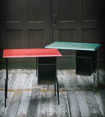 vintage style school desk brighten up your office space with a punch of