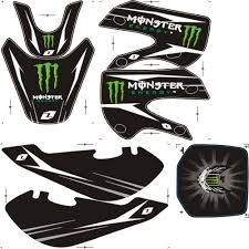 Cool Scorpion Dirt Bike Sticker In Zhejiang Wenzhou Exporter