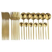 Buy flatware <b>gold and</b> get <b>free shipping</b> on AliExpress