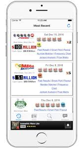 Mega Millions Number Frequency Chart Nc Lotto Results Lottery Results By Leisure Apps