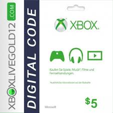 Microsoft Giftcard Microsoft Gift Card 5 Dolar Xbox One 360 Digato Pl