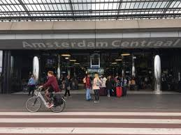 Image result for amsterdam train station