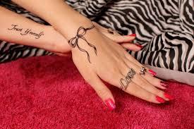 Tetovací Nápis Na Ruku Pro Dívky ženské Tetování Nápisy Rozhovor