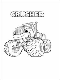 Blaze And The Monster Machines Printable Coloring Book 3 Desene
