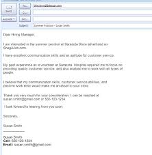 Sample Email To Apply For A Job Best Formats For Sending Job Search Emails Projects To Try