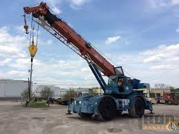 Grove Rt740 Load Chart Sold Grove Rt740 Rough Terrain Crane Crane For In Coraopolis