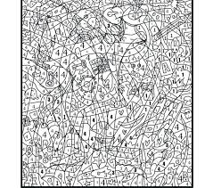 Extreme Color By Number Coloring Page Best Extreme Color Numbers