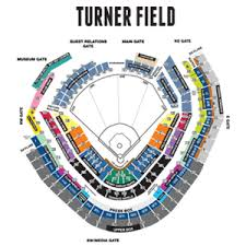 Braves Tickets Seating Chart Seating Chart Just Had To Have It Pinned Atlanta