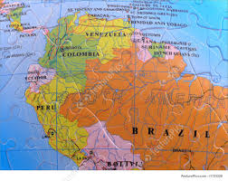 Signs And Info Spherical Globe Map Puzzle South America