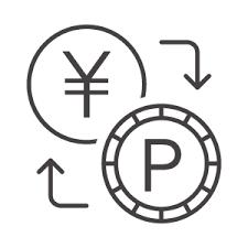 お金とポイント交換のアイコン02素材 無料のアイコンイラスト集 Icon Pit