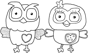 Owl Coloring Pages And Printable - glum.me