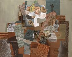 pablo picasso nature morte au compotier still life with a compote and glass
