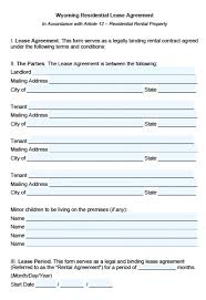 Residential Lease Application Form Agreement Florida Ca