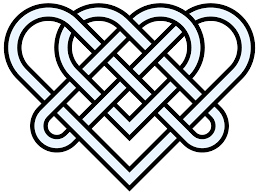 Celtic Design Love Library Of Heart Knot Banner Free Stock Png Files