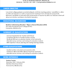 Resume Template Sample Stunning Resume Templates Sensationalmples Format Pdf Cv Template Word