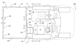 patent us7159915 ergonomically designed mail transport and patent drawing
