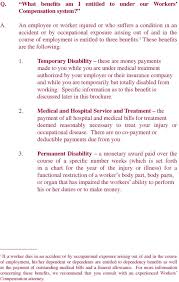 Workers Compensation Your Rights Pdf