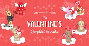 Size of this png preview of this svg file: Design Bundles The Valentines Graphics Bundle Has Facebook