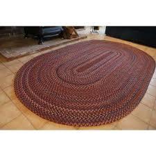 annie blue dragon 4 ft x 4 ft round indoor braided area rug