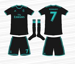 Inter milan shirt jersey maglia ronaldo brazil barcelona real madrid. Real Madrid Away Kit 2017