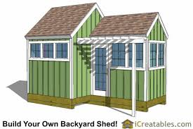 greenhouse shed plans easy to use diy