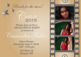 High School Graduation Announcement Examples Of High School Graduation Invitations Letter
