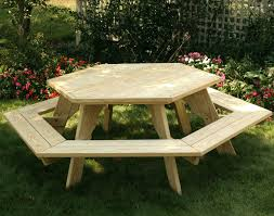 round picnic table dimensions for kids kit
