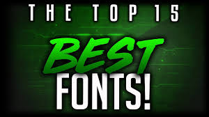 Best Font For Banner Design Best Free Fonts To Use For Youtube 2019 For Banners Headers Logos Thumbnails