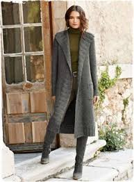 Вязаный спицами <b>длинный</b> женский <b>кардиган</b> от Novita   Knitwear ...