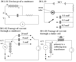unph38 to show the ability of a capacitor to store electricity use its discharge through a lamp a high resistance is connected in series a source of