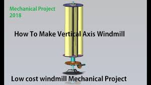 Vertical Axis Wind Turbine Design Pdf Design And Fabrication Of Vertical Axis Wind Mill Mechanical Project