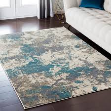 details about rego abstract gray 7 10 x 10 3 area rug