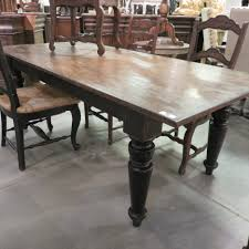 distressed black dining room table. Wondrous Distressed Black Dining Room Table Round For R