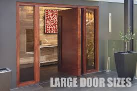 timber pivot doors offer large door sizes