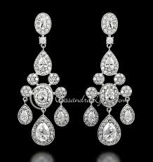 cubic zirconia chandelier earrings fresh 41 best sterling silver cz wedding jewelry images on