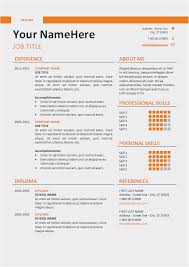 26 The Best Resume Template Professional Template Best Resume