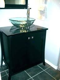 bowl sink vanity home depot bowl sink bathroom home depot bowl sink vanity tempered glass vessel