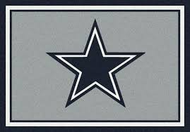 dallas cowboys area rug nfl team spirit area rug