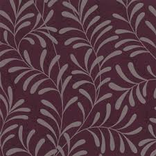 Patterned Wallpaper For Bedrooms Graham Brown Moment Wallpaper Damson Purple Plum Silver
