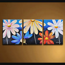 contemporary wall art floral painting egg flower paintings