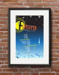 Creative Futura Informational Poster Design For Inspiration