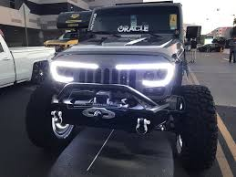 Jeep Lights For Sale Jeep Wrangler Jk Vector Pro Series Led Grill Oracle Lighting